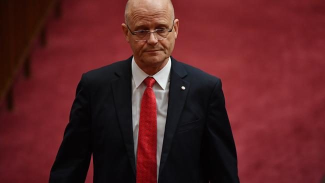 David Leyonhjelm. Picture: AAP