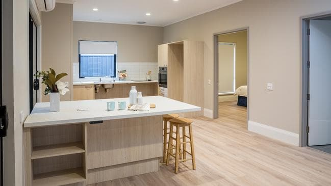 Inside a new home designed for people living with disabilities in Salisbury.
