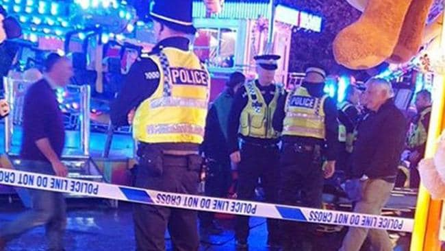 A woman has been rushed to hospital after being thrown from ride. Picture: MEN Media/australscope