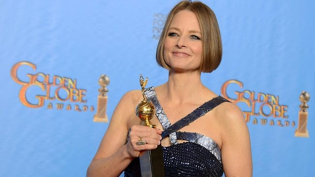 Jodie Foster was presented with the Cecil B. DeMille Award for outstanding contribution to the entertainment field.