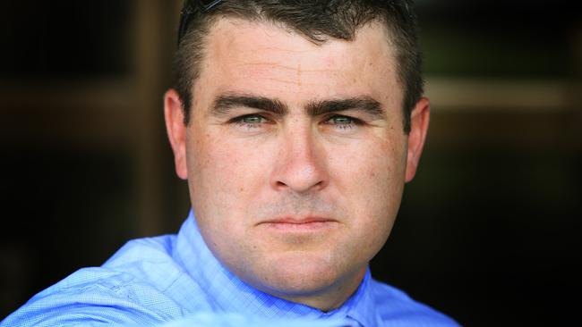 Scott Singleton will back up Cyclonite at Hawkesbury after running him on Melbourne Cup Day. Picture: Mark Evans