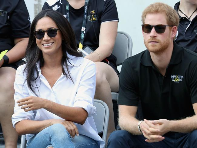 Reports suggest Meghan is more focused on her royal life with Prince Harry. Picture: AFP
