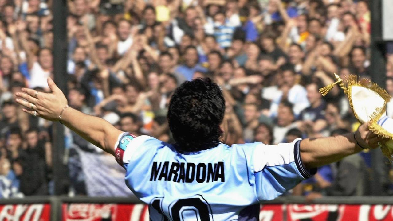 Diego Maradona was one of Argentina's favourite sons.