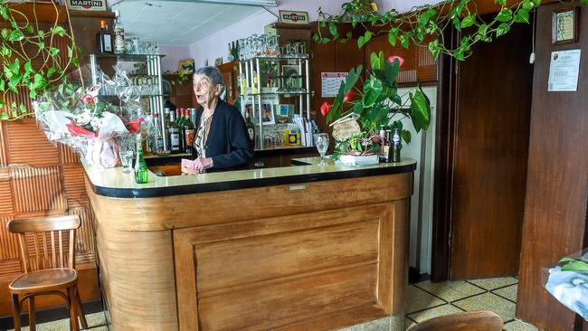"""""""It's been like this for 50 years,"""" Wirth says of the bar. Picture: AFP/Philippe Huguen"""
