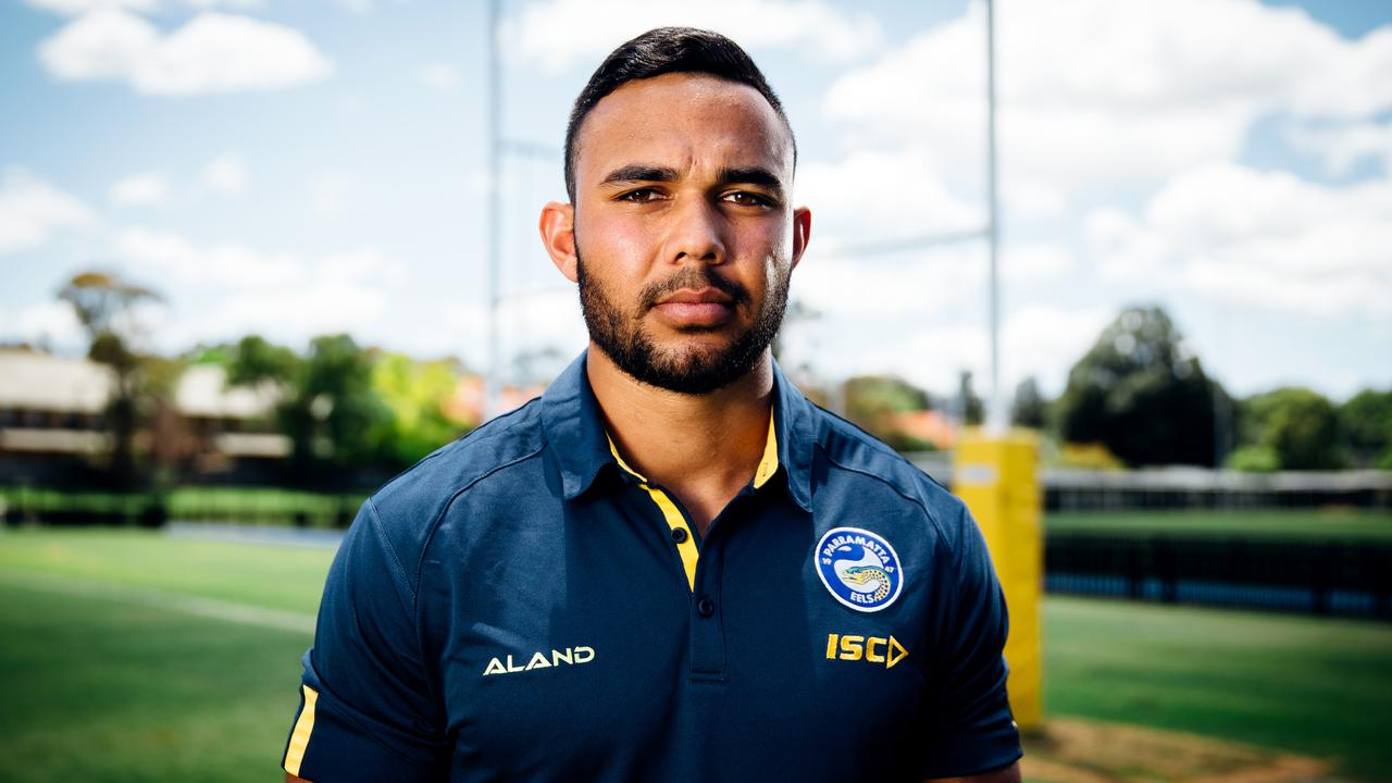 Parramatta Eels star Bevan French. Picture: Jonathan Ng
