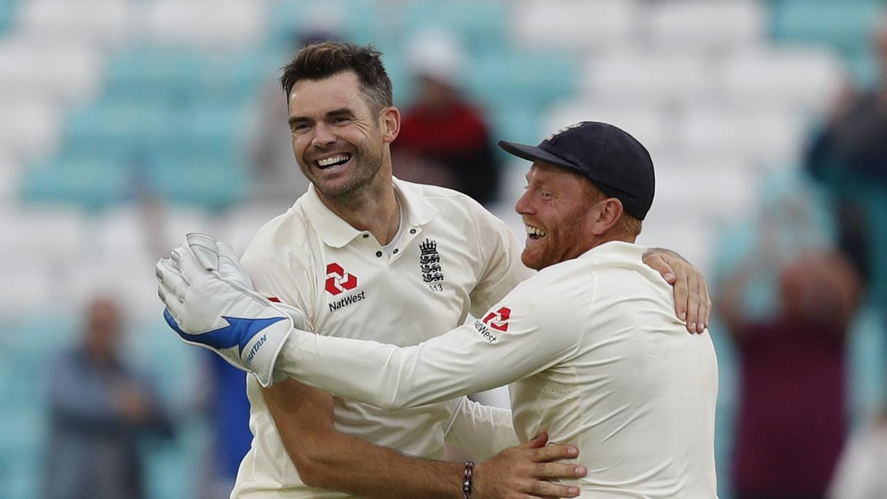England's James Anderson is one of Paine's chief concerns ahead of the Ashes.