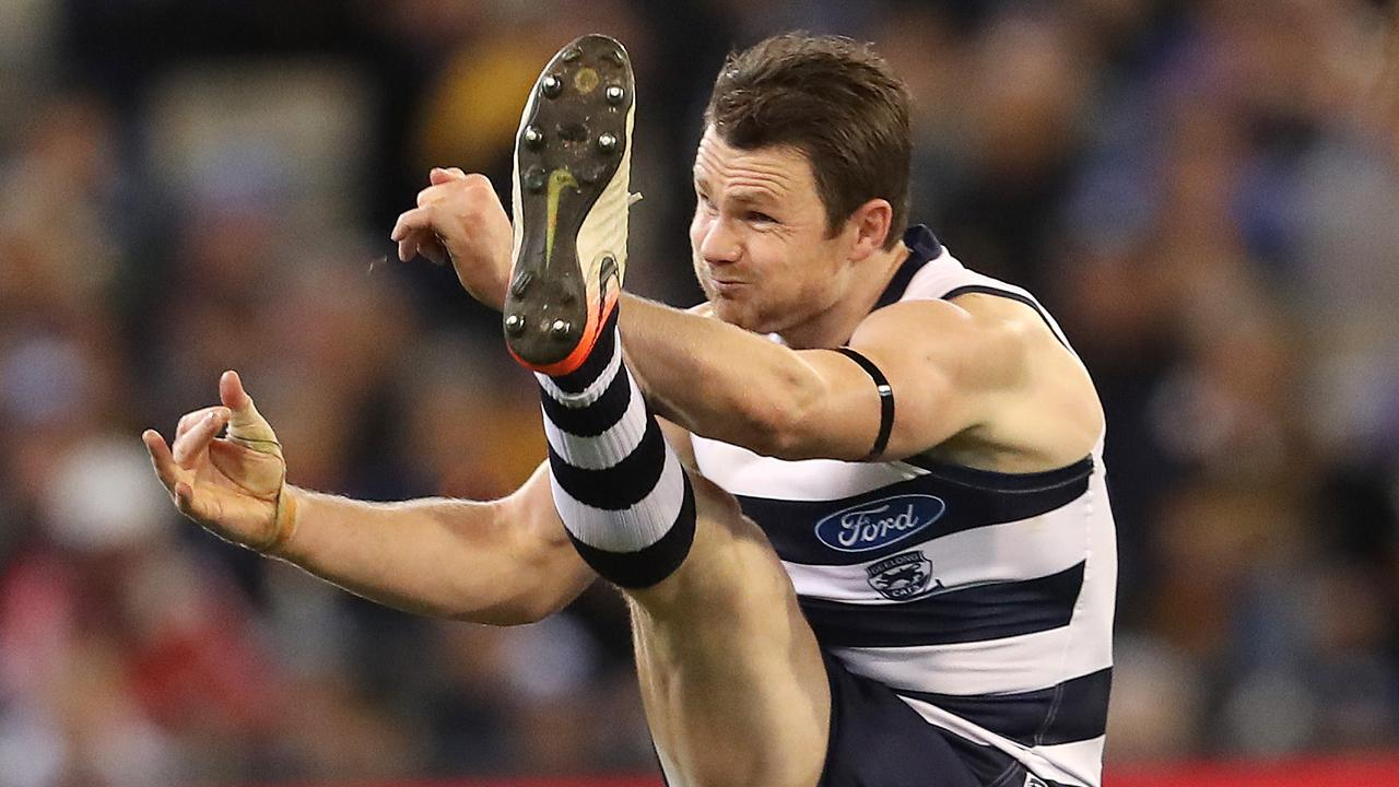 Geelong's Patrick Dangerfield could be part of AFL State of Origin 2020. Picture: Michael Klein