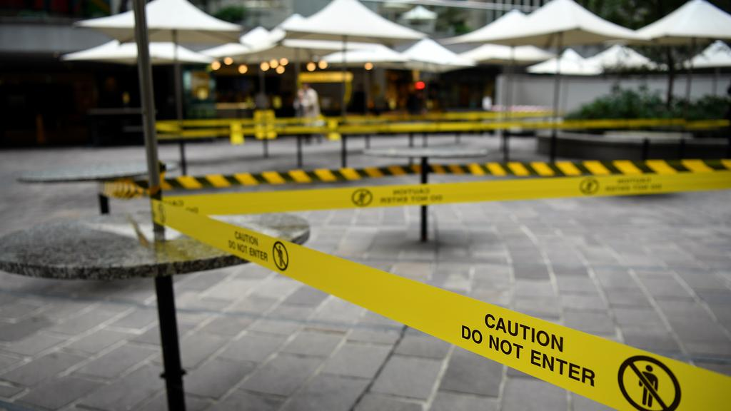 Cafes, restaurants and bars have been closed by the nationwide shutdown causing millions of job losses. Picture: AAP