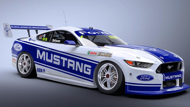 The Ford Mustang is coming to Supercars. Picture: Supplied