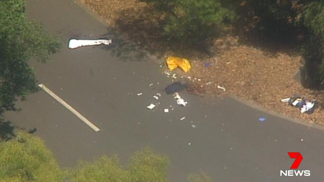 Police are investigating the circumstances. Picture: 7 News Sydney