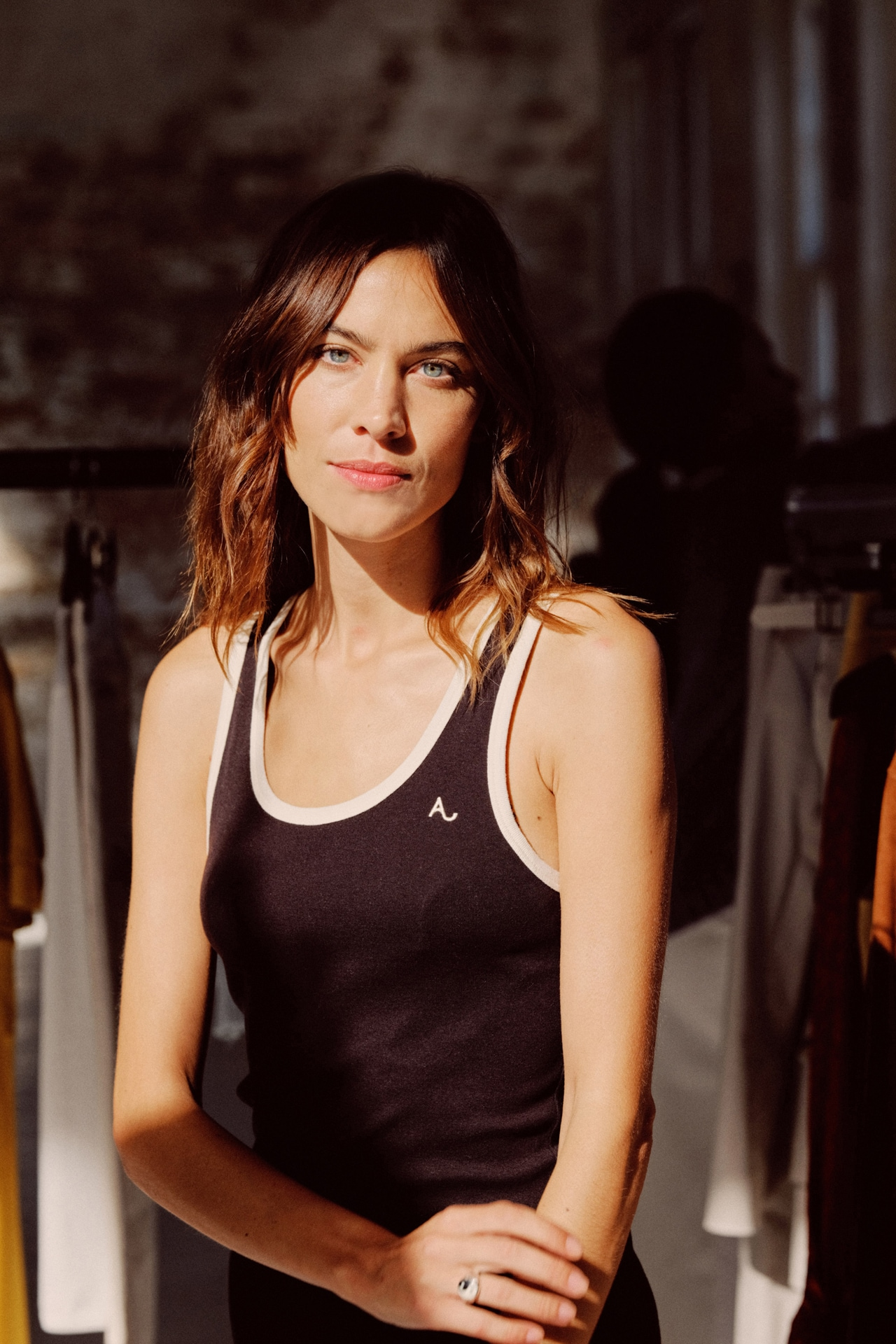 Alexa Chung on her London Fashion Week debut