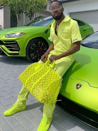 This guy is hoping to send his follows green with envy.
