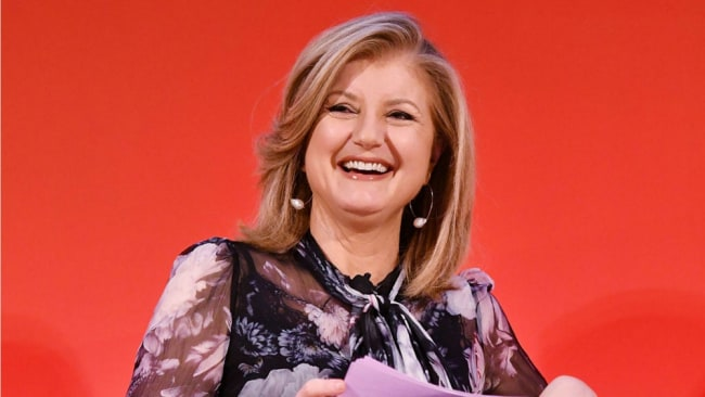 Arianna Huffington is all for repeat dress wears. Photo: Getty