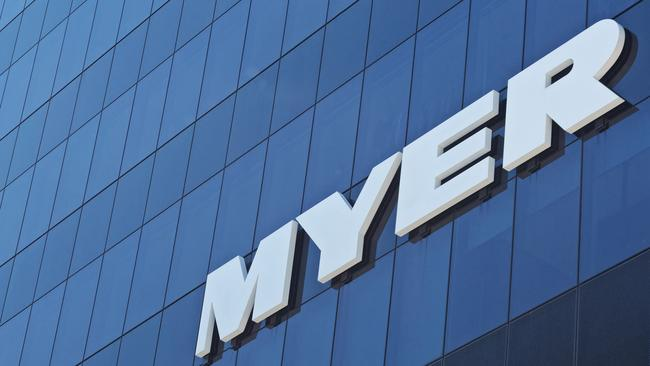 High-profile Myer executives have copped a pay cut. Picture: iStock