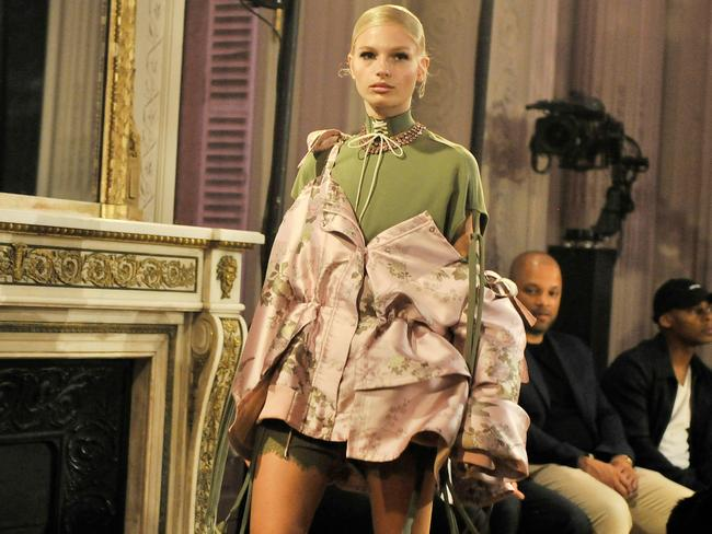 Rihanna's spring/summer '17 show received mixed reviews. Picture: Splash