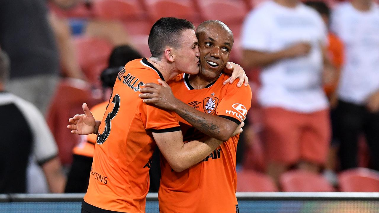 Brisbane Roar boss Darren Davies says he couldn't be prouder of his side following their dramatic 2-1 win over Sydney FC.