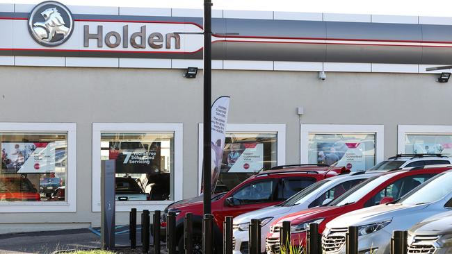 The Holden dealership at Newmarket, Brisbane. Picture: Liam Kidston.