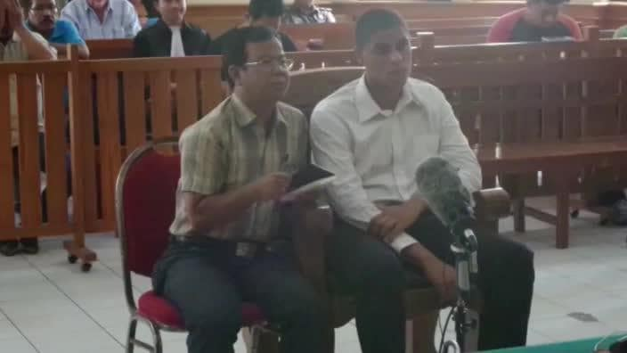 Duo found guilty of suitcase murder in Bali