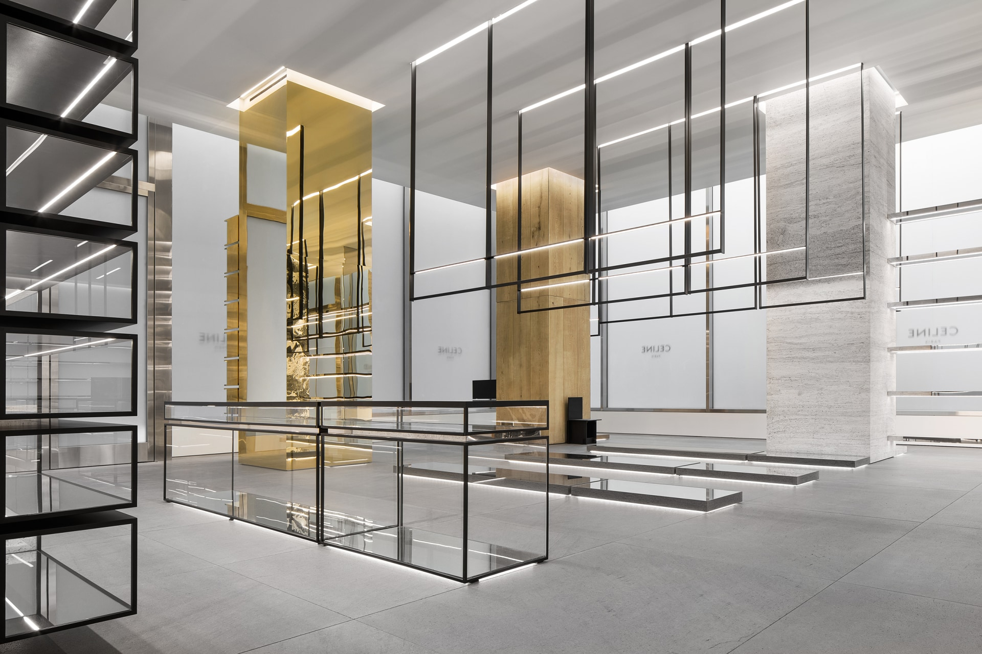 Go inside the first Hedi Slimane-designed Celine store