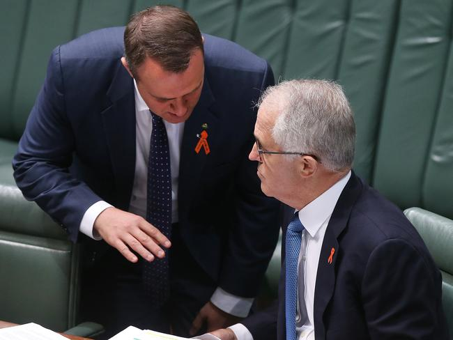 Malcolm Turnbull said backbenchers have the right to cross the floor based on personal principles. Picture: Kym Smith