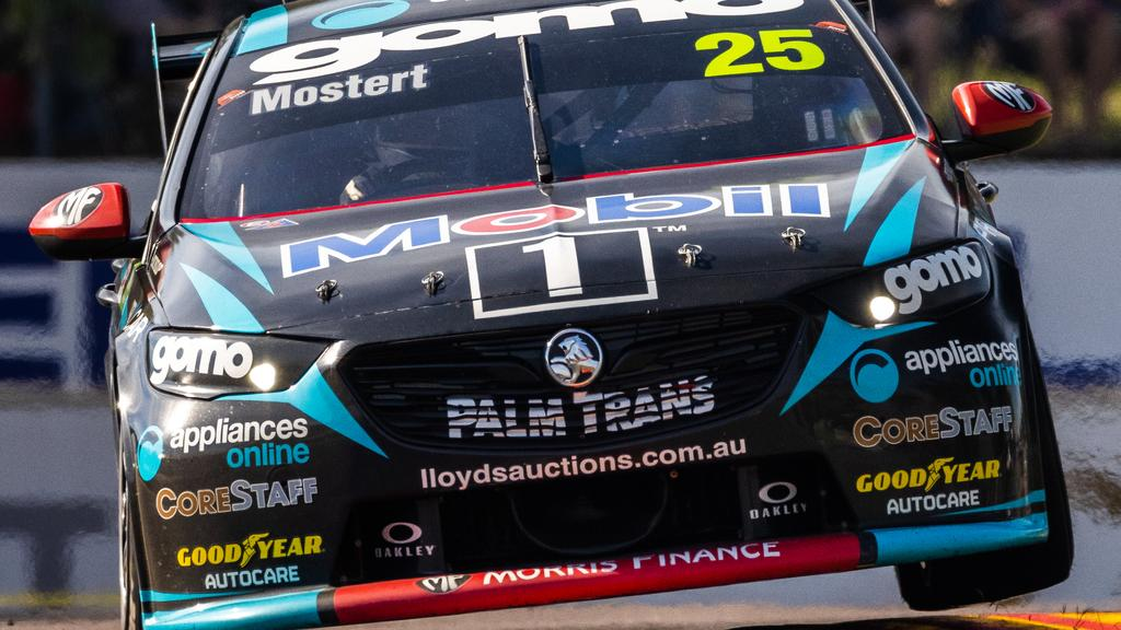 Chaz Mostert hammers his Holden Commodore ZB around the Hidden Valley circuit. Picture: Getty Images