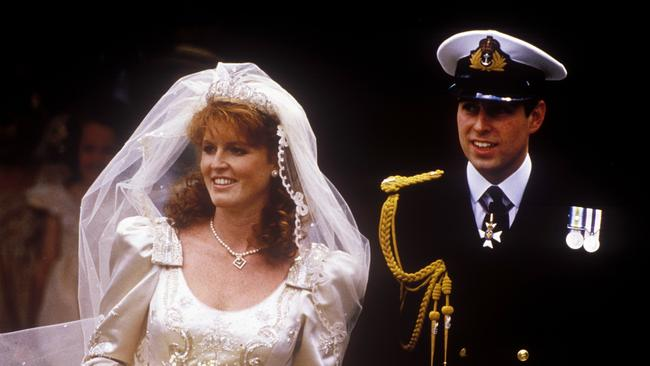 Fergie at her wedding to Prince Andrew on July 23, 1986. Photo: John Shelley Collection/Avalon/Getty Images