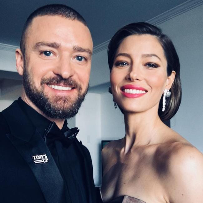 Biel and husband Justin Timberlake.