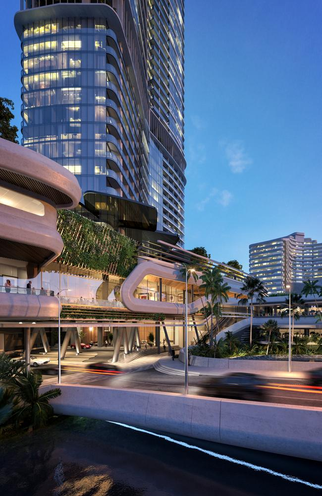 An artist's impression of the new-look Star Gold Coast.