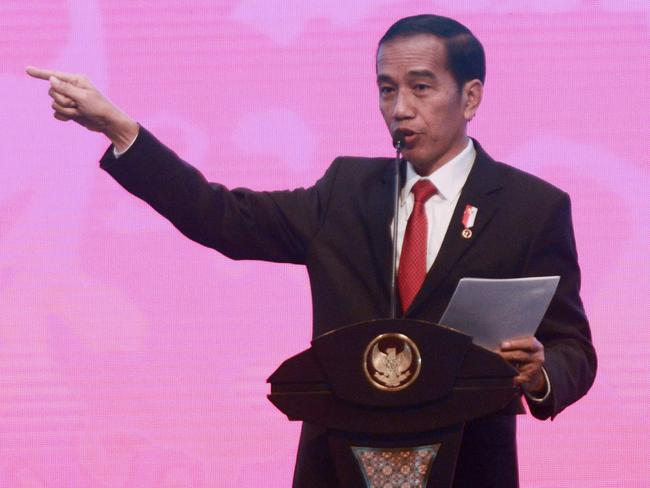 Indonesia's President Joko Widod has previously pledged to ease media restrictions for Papua, but human rights experts are sceptical. Picture: AFP