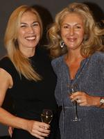 Terrie Barakat and Amanda Harris, both of Hamilton, at the Y Women lunch for Youngcare. Picture: Just Photography