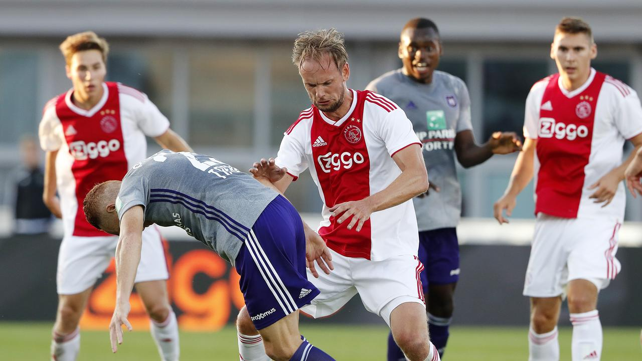 De Jong has four Eredivisie titles and captained Ajax for two seasons.