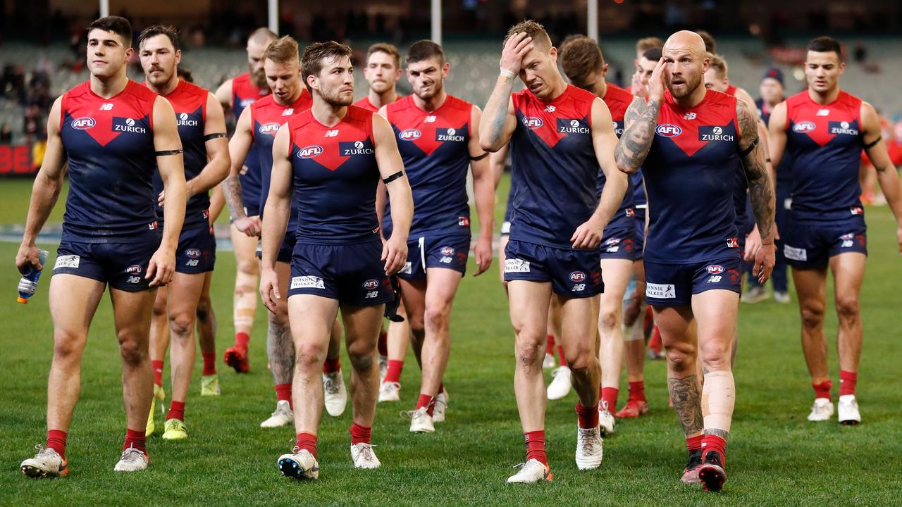 The Demons should be awarded four points, says Brad Green. Picture: Michael Willson