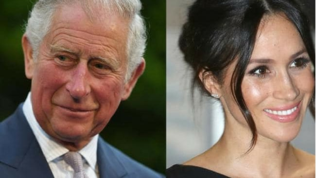 Prince Charles will walk Meghan Markle down the aisle during her marriage to his son Prince Harry after her father pulled out of the ceremony for health reasons. Picture: AFP/Jean-Pierre Amet and Chris JacksonSource:AFP