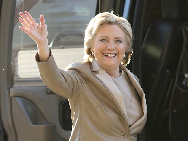 Former Democratic presidential candidate Hillary Clinton, who lost to Donald Trump. Picture: AP