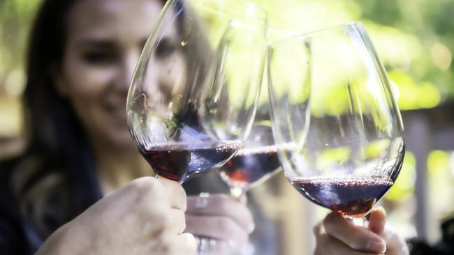 Ageing like a fine wine? That glass of red takes on a different meaning in your thirties. Picture: iStock