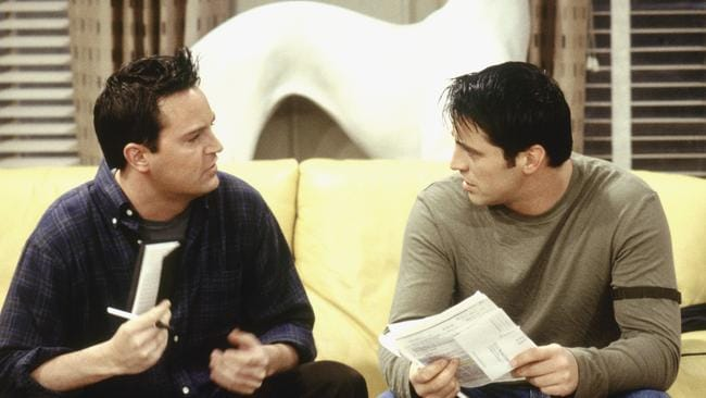 LeBlanc and Perry played best friends on the show. Picture: NBC/NBCU Photo Bank via Getty Images