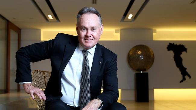Lindsay Partridge has called for immediate changes in the building industry for the safety of residents. Picture: Hollie Adams/The Australian