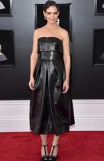 Katie Holmes attends the 60th Annual GRAMMY Awards at Madison Square Garden on January 28, 2018 in New York City. Picture: John Shearer/Getty Images