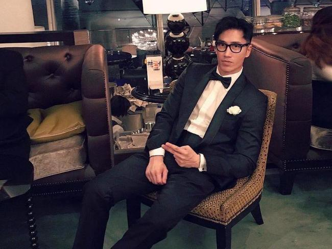 The model poses in something a little more formal. Picture: Instagram