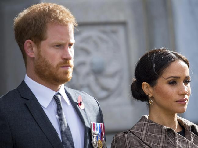 The Duke and Duchess of Sussex may move from Kensington Palace. Picture: AP