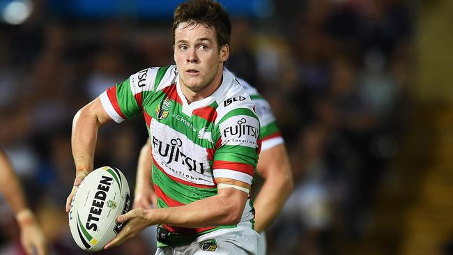 Luke Keary in action for the Rabbitohs last season. Picture: Zak Simmonds