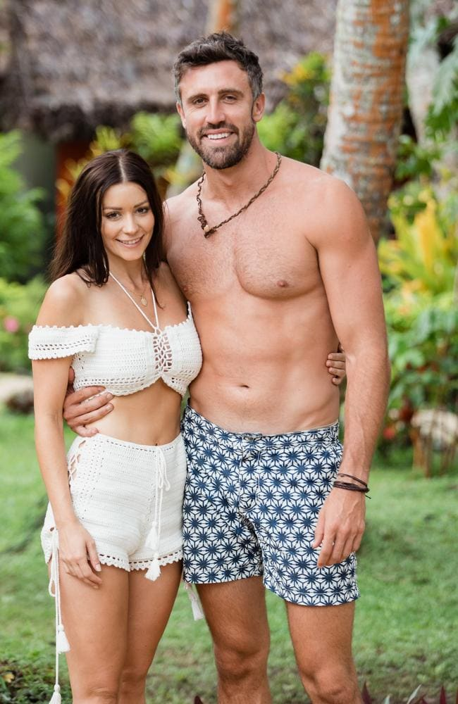 Lisa Hyde and Luke McLeod on The Bachelor in Paradise