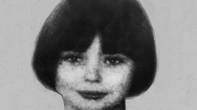 British child murderer Mary Bell in 1968. Picture: Keystone.