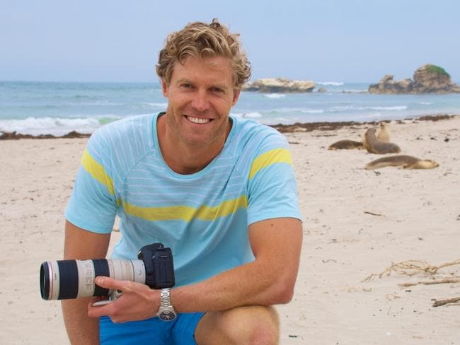 Dr Chris Brown rounded out the top three Sexy Australian of the Year list.