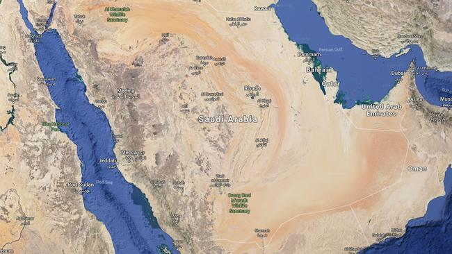 Qatar saudi arabias nuclear plan for enemy escalates middle east feud saudi arabia has fuelled the escalating tensions with its rival with a proposal to build a nuclear waste dump on its doorstep picture google mapssource gumiabroncs Images