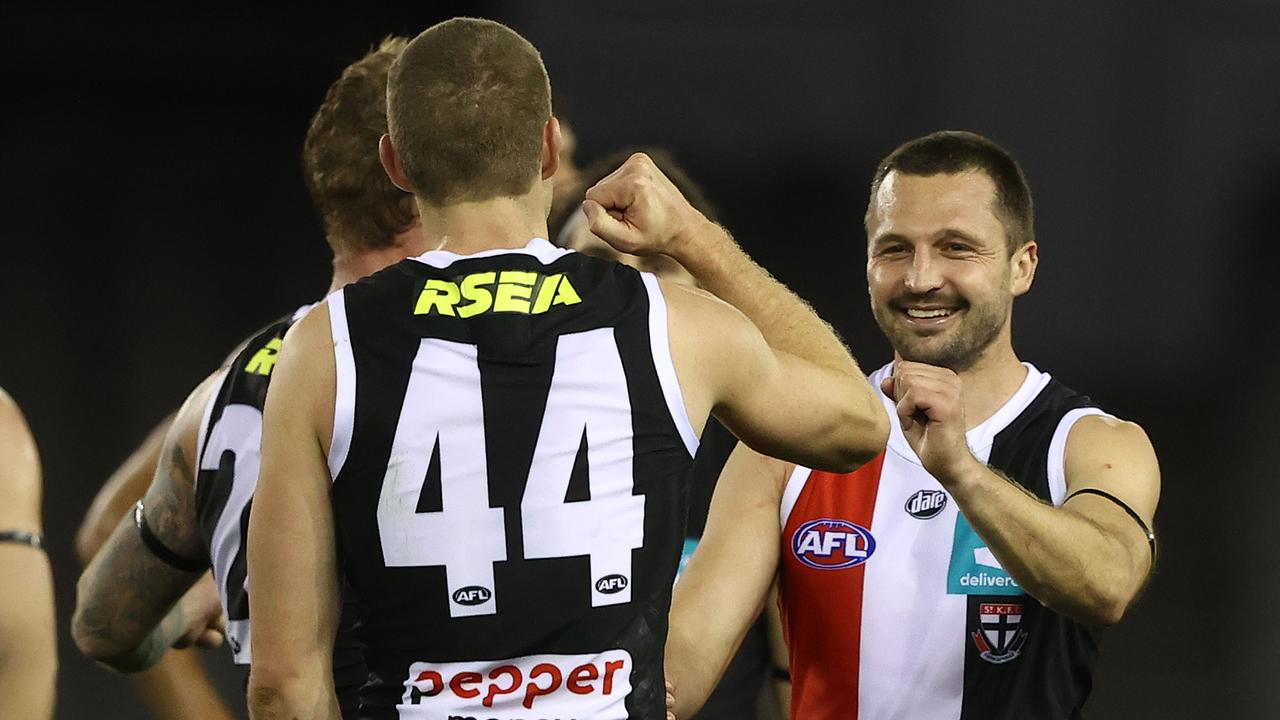 Jarryn Geary is available for St Kilda. Photo: Robert Cianflone/Getty Images.