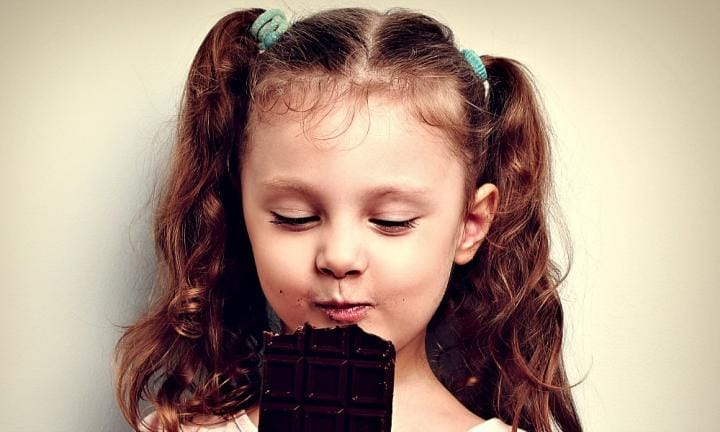 The chocolate game and 9 more edible party games for kids
