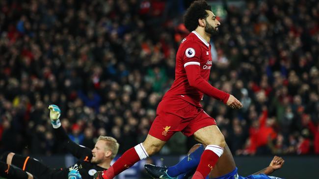 Mohamed Salah of Liverpool.
