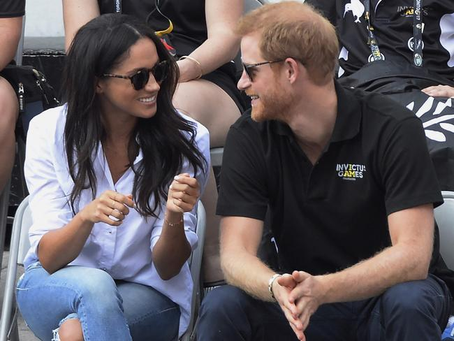Meghan and Harry will soon become first-time parents. Picture: AP