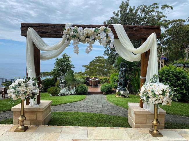 Tumbling Waters Retreat is a luxury wedding venue and can host as many as 140 guests at once. Picture: Instagram